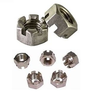 Slotted nut