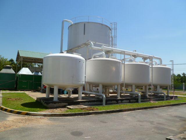 Tank bồn chứa, Silo nguyên liệu.